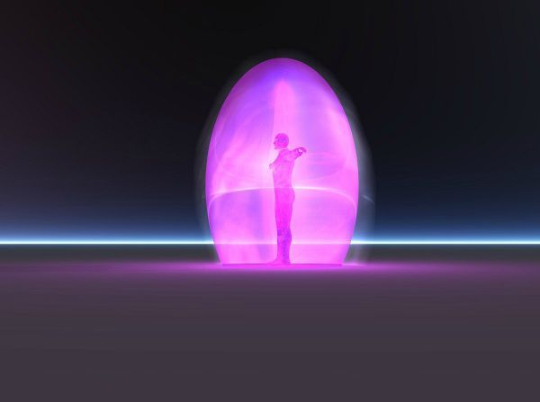 Oeuf violet